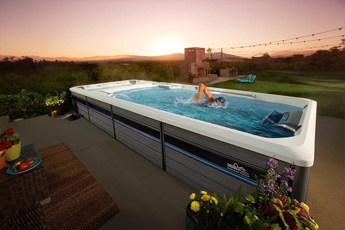 Endless Pools Swim & Treadmill Spa| Hot Springs Pools & Spas