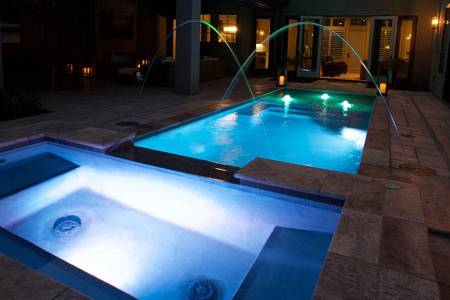 gunite inground pool