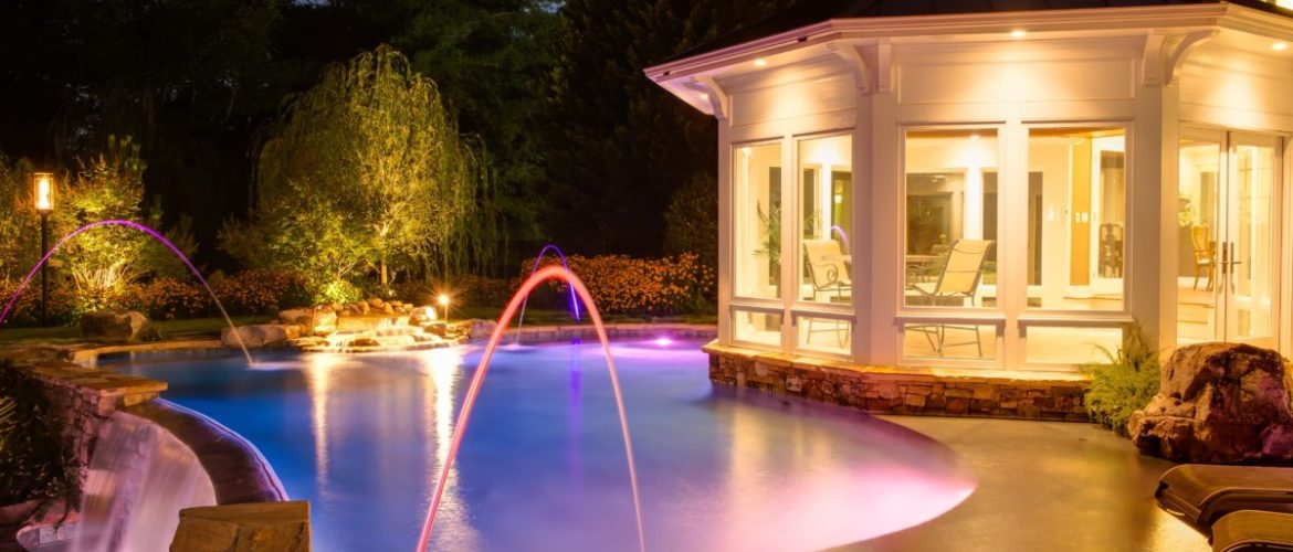Gunite Pool with Jets