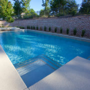 Gunite Pool with Spa