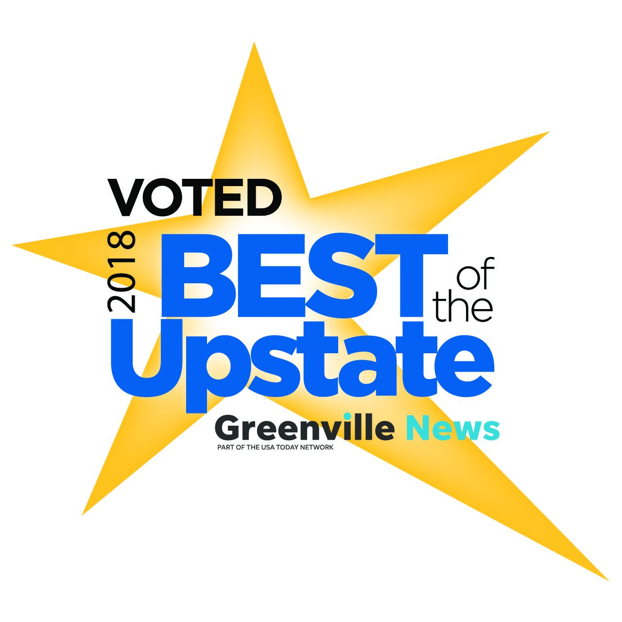 best of upstate sc award logo