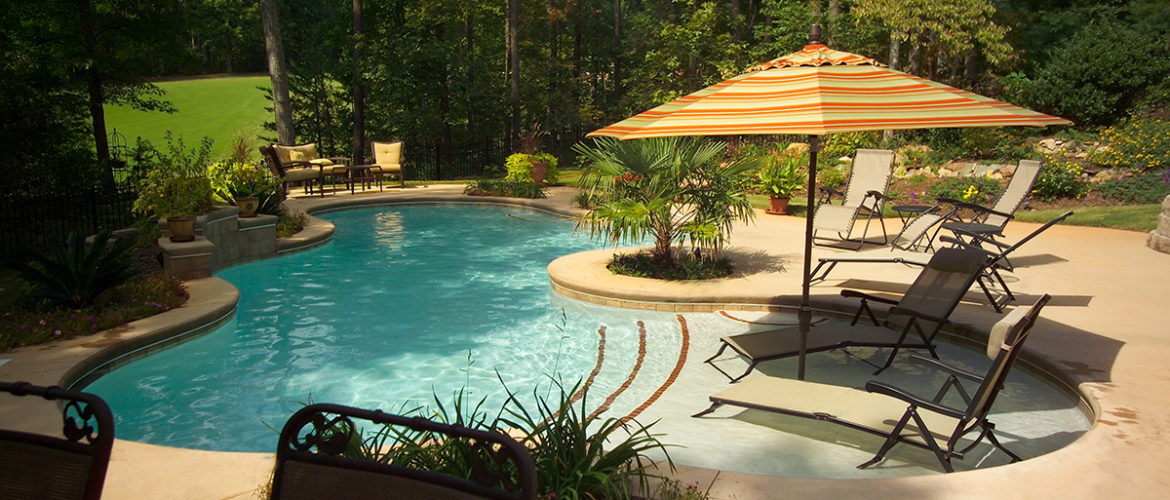 Gunite Pool with Sundeck