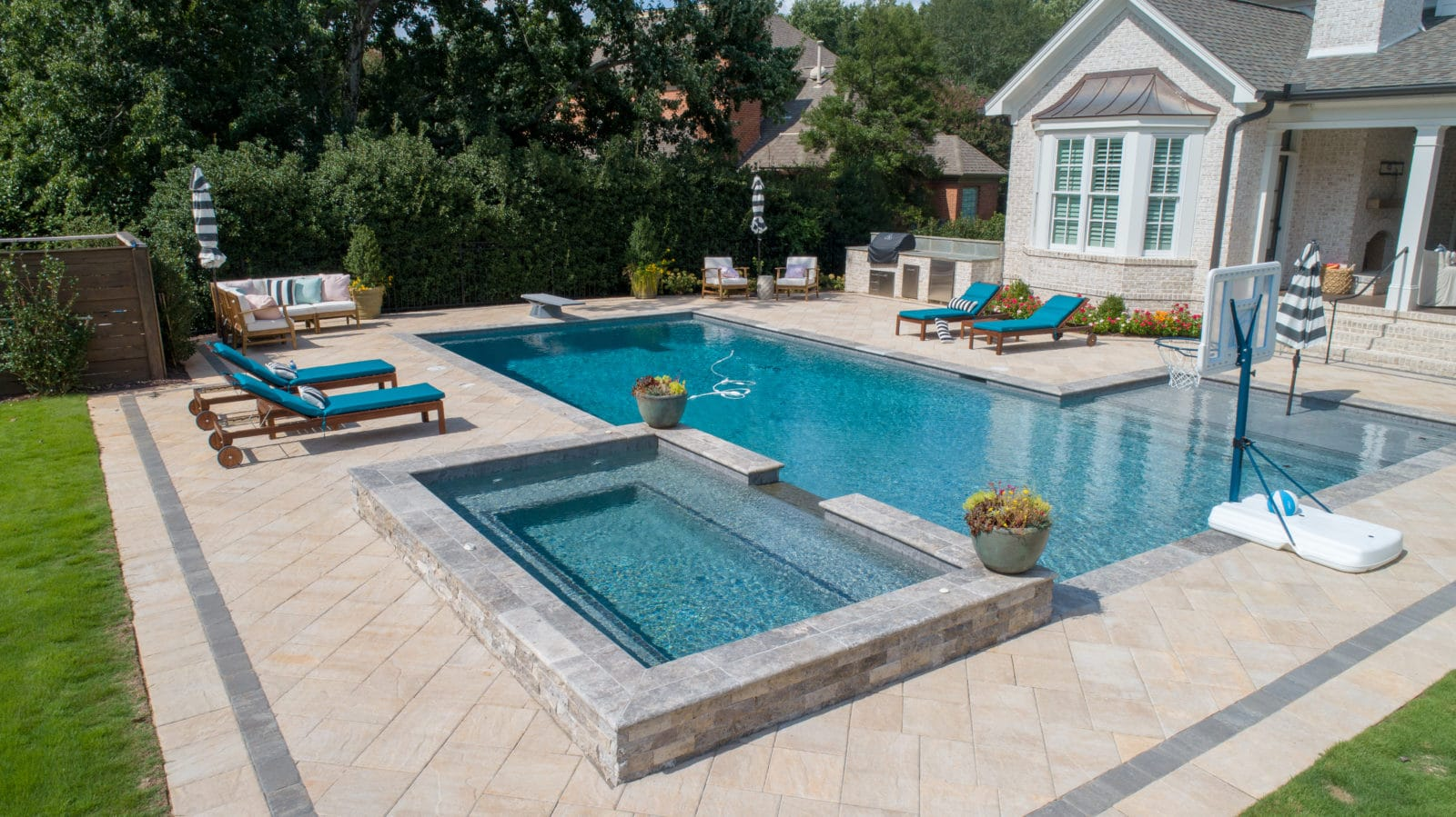 Residential In-Ground Pools | Hot Springs Pools & Spas