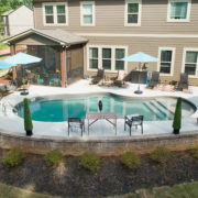 Gunite Pool Backyard