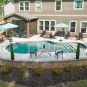 Gunite Pool Backyard
