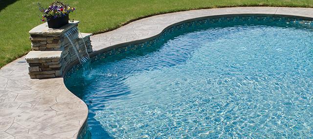 sheer descent in pool