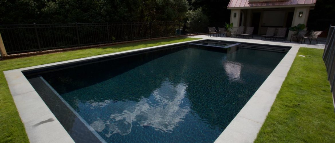 Gunite Pool with Onyx Finish