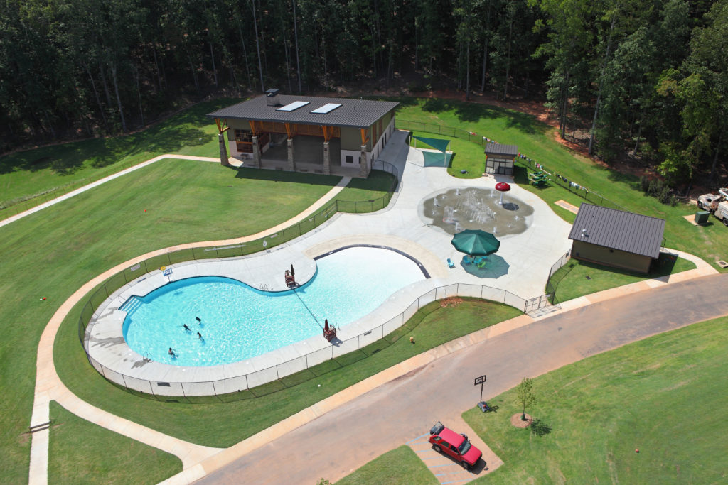 Campground Pool and Splash Pad