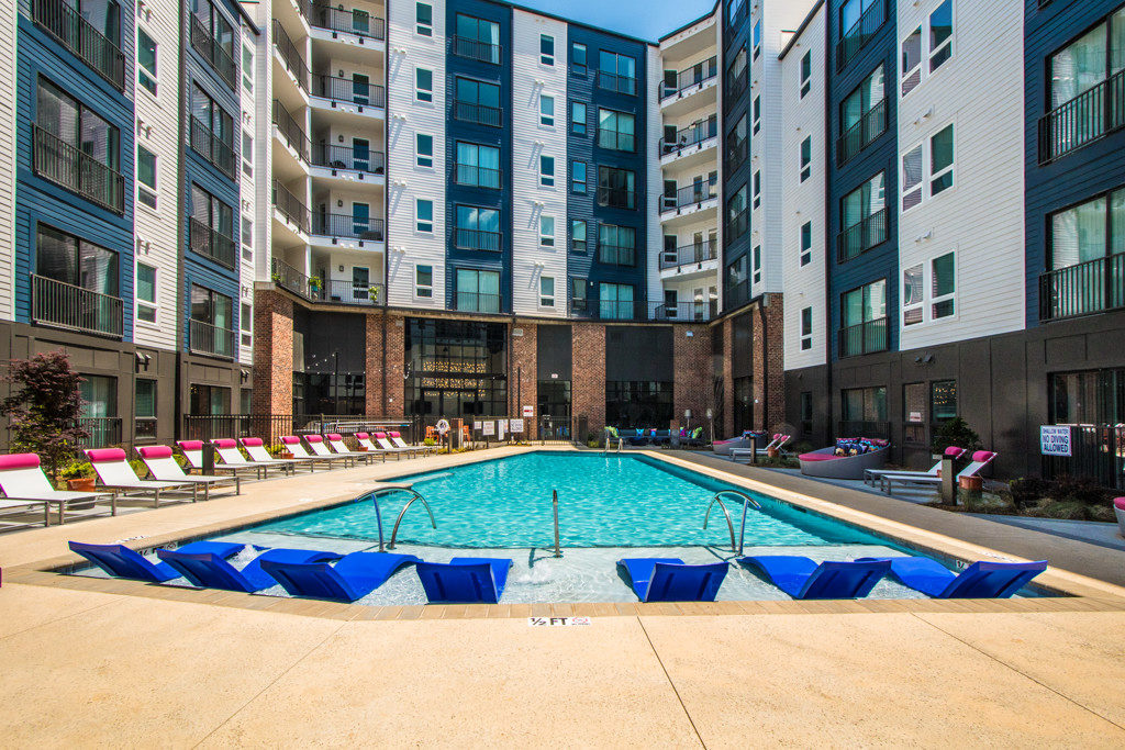 Apartment Amenity Pool