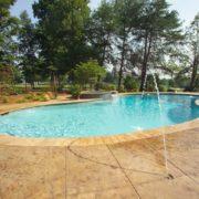 Pool & Spa w/ Deck Jets