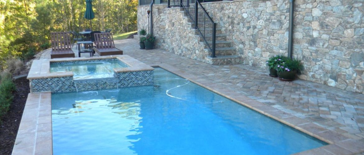 Gunite Pool & Spa