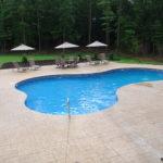 Lagoon Vinyl Pool