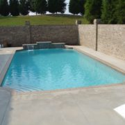 Grecian Gunite Pool