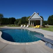 Gunite Pool w/ French Grey Finish