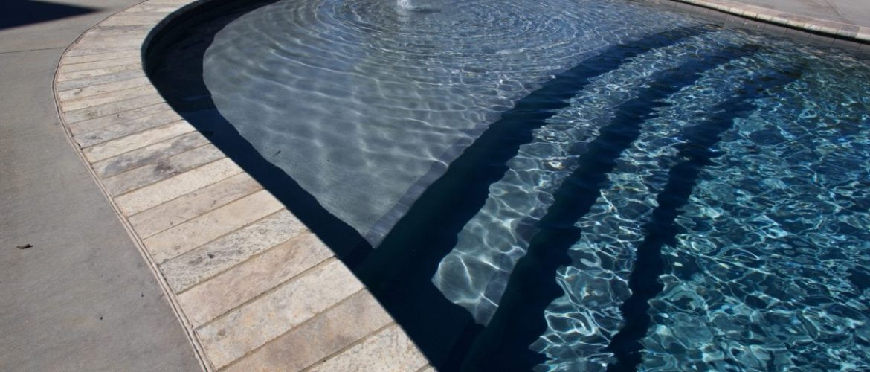Gunite Pool w/ French Grey Finish