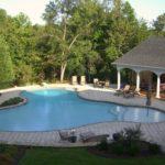 Gunite Lagoon Pool