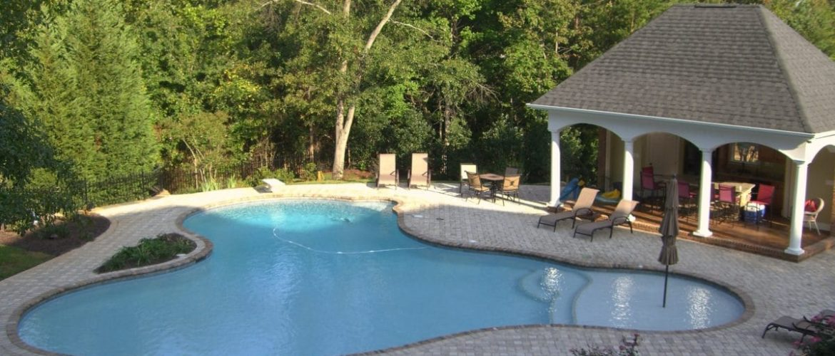 Gunite Lagoon Pool