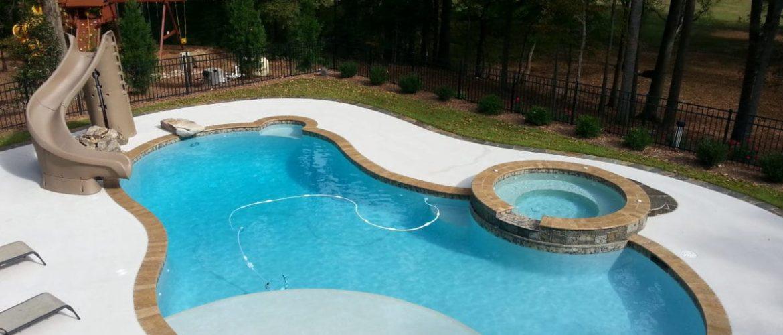 Pool & Spa w/ Slide