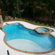 Pool & Spa w/ Slide