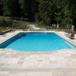 Gunite Pool w/ Custom Bench