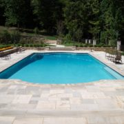 Gunite Pool w/ Custom Bench
