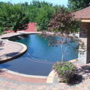 Zero Entry Gunite Pool