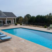 Gunite Pool with Auto Cover
