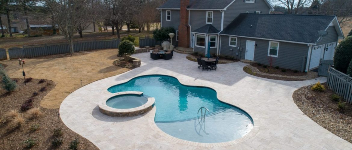 Custom Gunite Pool & Spa