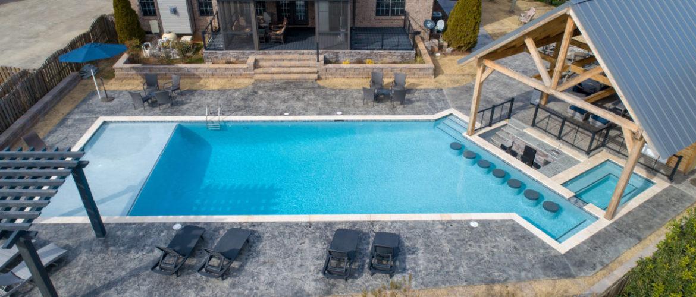 Custom Gunite Pool & Spa
