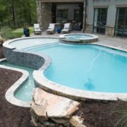 Negative Edge Gunite Pool & Spa