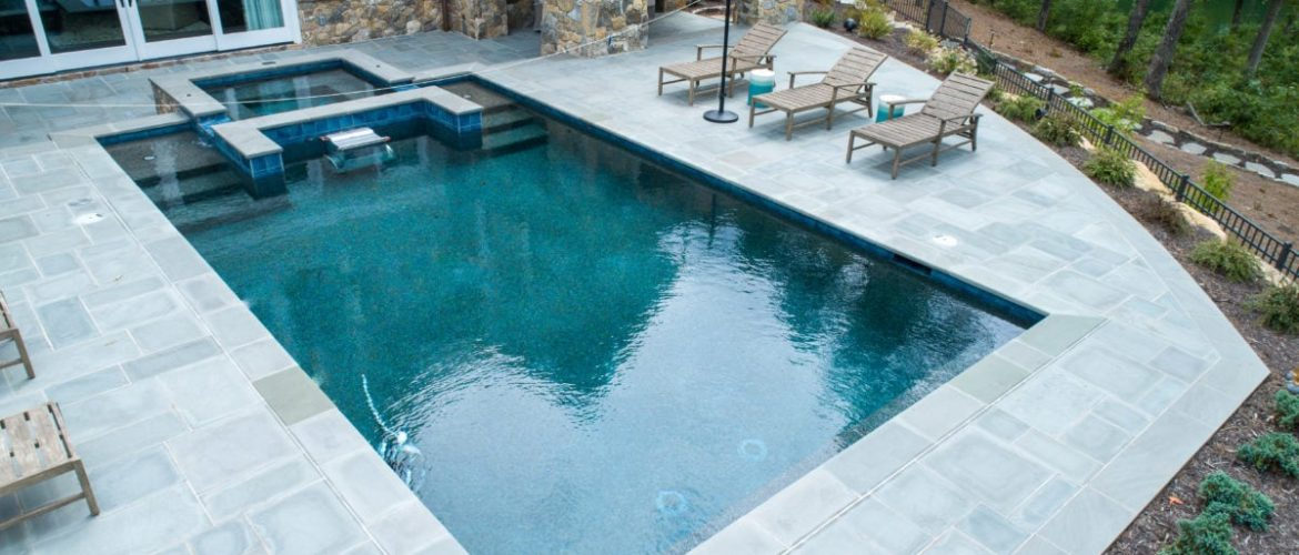 Gunite Endless Pool & Spa